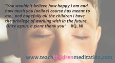 expert led, certified kids meditation teacher training - on demand courses. Mindfulness For Kids, Mindfulness Meditation, Meditation Teacher Training, Easy Day, Adhd Kids, Special Needs, I Am Happy, Online Courses, Teenagers
