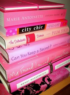 Pink Books ~ Summer Reading