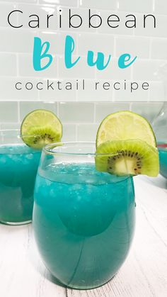 Caribbean Blue Cocktail - Stories by CheapCaribbean Blue Cocktails, Cocktail Drinks, Cocktail Recipes, Easy Cocktails, Caribbean Drinks, Caribbean Party, Caribbean Recipes, Refreshing Drinks, Summer Drinks