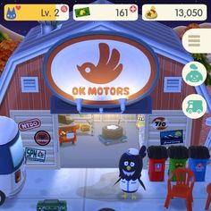 The OK Motors logo from Animal Crossing Pocket Camp is perfect. It doubles as a bird and the hand sign for OK