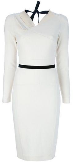 ROLAND MOURET Angel Dress