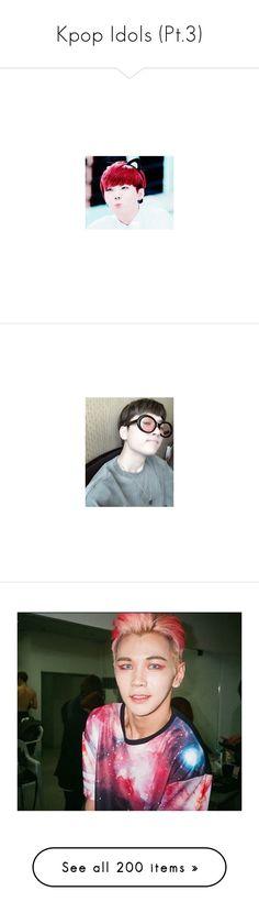 """Kpop Idols (Pt.3)"" by ashleycade23 ❤ liked on Polyvore featuring kpop, idols, tops, bts, brown top, get lost, min yoongi, suga, jungkook and topp dogg"