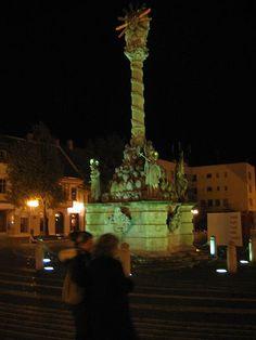 Trnava, Slovakia- Holy Trinity Plague Monument
