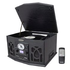 Pyle Home PTCDS5U Vintage Turntable with CD/Cassette/Radio/Aux-In/USB/SD/MP3 and Vinyl to MP3 Encoding(Black) Pyle,http://www.amazon.com/dp/B00604YSNU/ref=cm_sw_r_pi_dp_BhW8sb1R1ZV8WEND