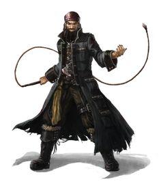 Slaver or Pirate Captain Concept
