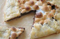S'more pie. Delicious.