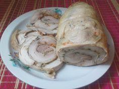 Moje domowe kucharzenie: Rolada z kurczaka
