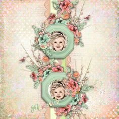 Template CT Inspired Tammy by Miss Mel Templates. Kit Growing Beautiful by DitaB Designs. Photos per kind favour of Anastasia Serdyukova Photography.