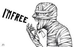 Ich bin frei!