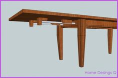 EXTENDABLE DINING TABLE DESIGN - http://homedesignq.com/extendable-dining-table-design.html