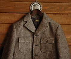 """Stevenson Overall Co. """"Cavalir - CV1 / Classic Moter Jacket"""". Pretty sure I've seen Matthew Crawley in this on Downton Abbey."""