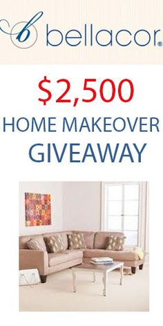Bellacor $2,500 Home Makeover Giveaway