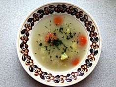 10 Traditional Polish Soups - CookINPolish - Traditional Recipes Healthy Soup Recipes, My Recipes, Clear Vegetable Soup, Tripe Soup, Beet Borscht, Sorrel Soup, Polish Soup, Pickle Soup, Polish Chicken