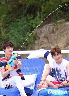 "That Summer Concert Behind The Scenes Photoshoot © Naver"" Infinite Members, Kim Myungsoo, St Etienne, Nam Woo Hyun, Woollim Entertainment, Pop Group, Boy Bands, Behind The Scenes, Nerd"