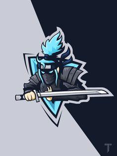 Shinobi mascot logo backgroung esports wallpaper png fortnite - This is Pubg Team Logo Design, Logo Desing, Mascot Design, Identity Design, Brand Identity, Strong Female, Logo D'art, Typography Logo, Logo Youtube