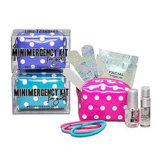 """""""New"""" Minimergency Kit for Girls by Mr. and Mrs."""