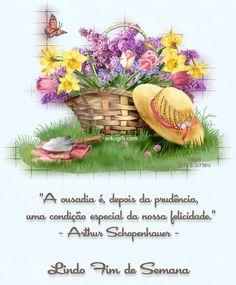 A ousadia é, depois da prudência, uma condição especial da nossa felicidade. (Arthur Schopenhauer)