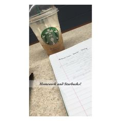 Because when your homework includes watching a show to watch commercials-you chose @ahsfx and get Starbucks while your at it!