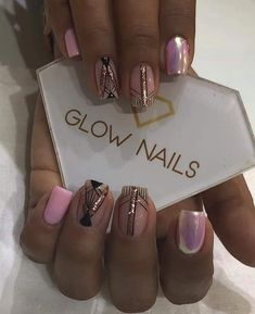 Glow Nails, Short Nails, Nail Colors, Hair Beauty, Divas, Angel, Lady, Inspiration, Make Up