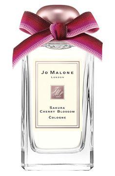 Jo Malone Sakura Cherry Blossom cologne perfectly captures the airiness of spring.