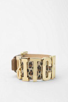 DALLAS + CARLOS Alpha Vincenzo Leopard Bracelet Online Only