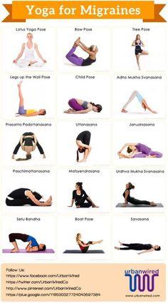 Yoga Poses For Migraine
