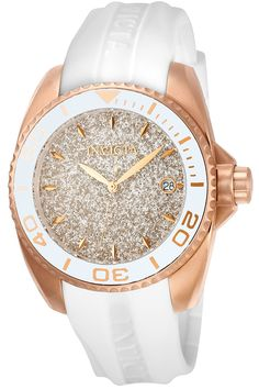 Patterns of ethereal energy connect time to a higher plane with the Invicta Angel collection. Harmonizing a perfect balance between time and style, watches of graceful diversity comprise Angel. Designed with a touch from above, Angel offers an array of selections to satisfy any mood, occasion or taste. Highlighting the aspects of feminine prowess, the Invicta Angel collection knows no bounds, transcending earthly planes and achieving the ideal in keeping time.