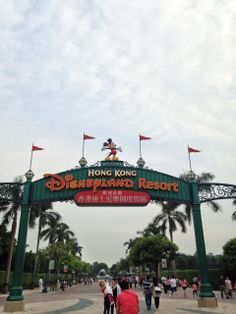 Hong Kong Disneyland with my beautiful family!