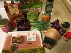 instant pot recipe, chicken lentil soup, trader joes