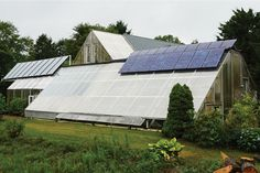 Growing in a normal greenhouse year-round can be an expensive and environmentally iffy end