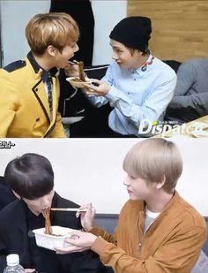 Awe, they haven't changed at all Jimin Jungkook, Bts Bangtan Boy, Bts Taehyung, Bts Boys, Namjin, Foto Bts, Bts Photo, Taekook, Yoonmin