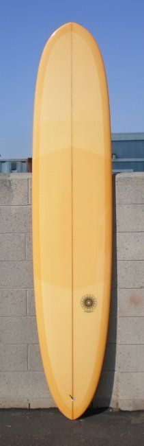 My any day longboard by Stamps Surfboards