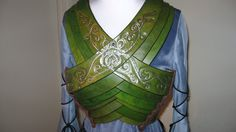 Elvin lotr female chest armor by ~Raintouched on deviantART - I really need to make this is the next 11 days.  #onelasttime