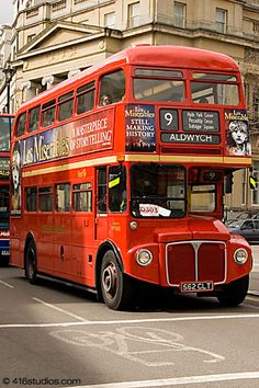 Old Routemaster Bus Central London