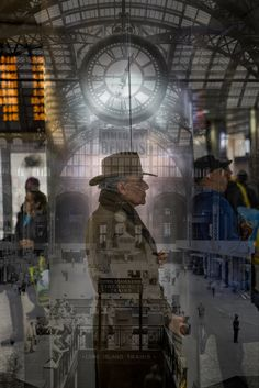 A photographer discovers beauty in the currently dysfunctional transit hub.