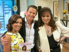 At #AccessHollywood with #BillyBush and #KitHoover #TheLuckySantangeloCookbook #ConfessionsOfaWildChild