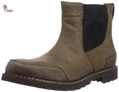 Timberland Étanche Chelsea, Boots homme - Marron - EU: 46 - Chaussures timberland (*Partner-Link)