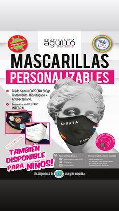 MASCARILLAS PERSONALIZABLES😷 Tejido Microfresh Antibacteriano🦠y Semi Neopreno Hidrofugado✅ Full Print-Óptimo acople a la nariz🔝 Offset, Movie Posters, Movies, Impressionism, Tejidos, 2016 Movies, Film Poster, Films, Popcorn Posters