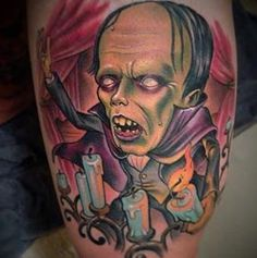 Sick tattoo by SFB artist Scotty Munster