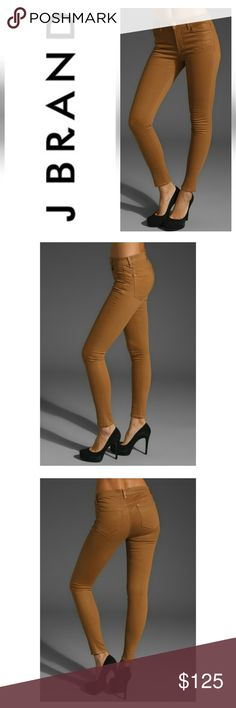 J brand super skinny J brand sparkle skinny in coated sandstorm/ brand new with tags, neutrals are always great! -  is a little wrinkle J Brand Jeans Skinny