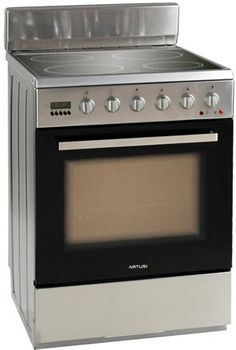 Artusi - 60cm Freestanding Electric Cooker, Ceramic Cooktop, Vulcan Series, Stainless Steel | Electric Uprights | Uprights | Ovens, Cooktops & Rangehoods - Buy Factory 2nd and New Appliances and White Goods Online at 2nds World