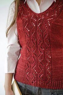 Ravelry: Locus Vest pattern by Katya Frankel