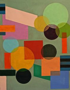 "Saatchi Art Artist Julien Corcoran Porisse; Painting, ""Hommage aux Delaunay"" #art"