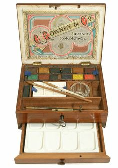 G. Rowney & Co.      Watercolour Box        c1890