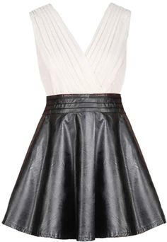 Leather Empress Dress