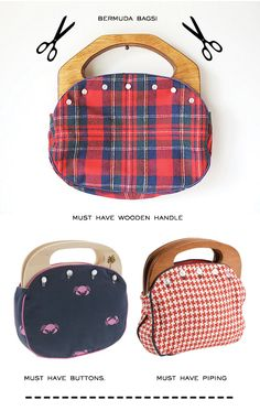 bermuda bags- I remember these!  I had one w/ a reversible cover.  I need to find some material and handles and make one for Caity & me!