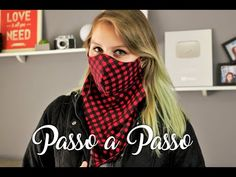 DIY Máscara Lenço | Passo a Passo - YouTube Easy Face Masks, Diy Face Mask, Couture Sewing, Mask For Kids, Old T Shirts, Diy Mask, Sewing Techniques, Sewing Hacks, Diy Clothes