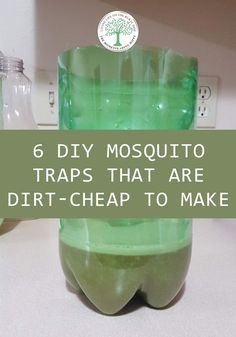 6 DIY Mosquito Traps That Are Dirt-cheap to Make 6 DIY Mosquito Traps That Are Dirt-cheap to MakeMosquitoes are universal pests. Anyone who does anything outside has to contend with THEM. Mosquito Yard Spray, Diy Mosquito Repellent, Natural Mosquito Repellant, Insect Repellent, Fly Repellant, Mosquito Repelling Plants, Mosquito Trap Homemade, Best Mosquito Trap, Mosquito Killer