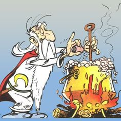 Not for you, Obelix. You have been falling inside when a kid