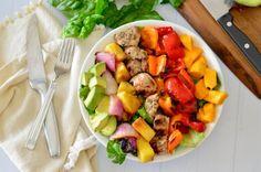 Jamaican Chopped Chicken Salad
